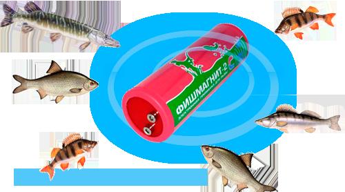 ультразвуковая приманка рыбы