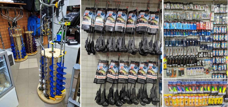 Свежее поступление товаров для зимней рыбалки