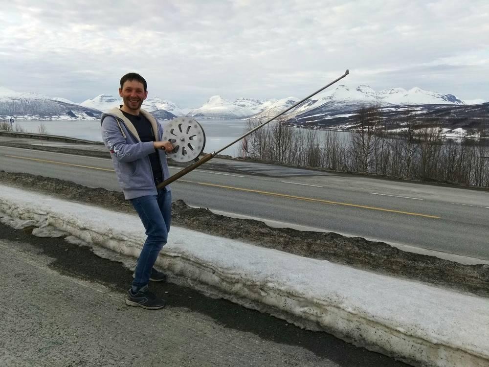 Трескодёр едет на испытания в Норвегию