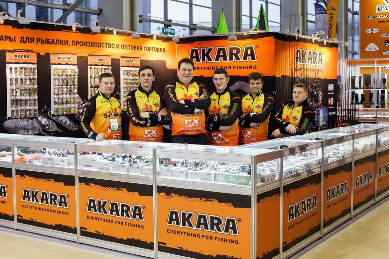 Стенд компании Akara