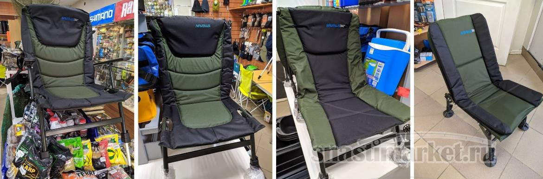 Популярные и недорогие карповые кресла Nautilus