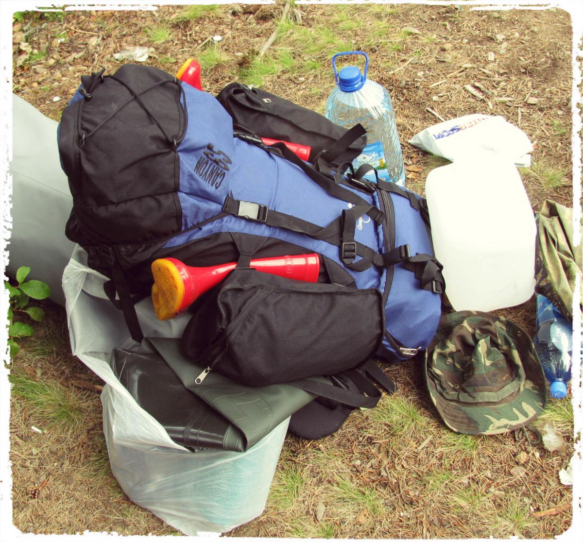 Рыболовный рюкзак.