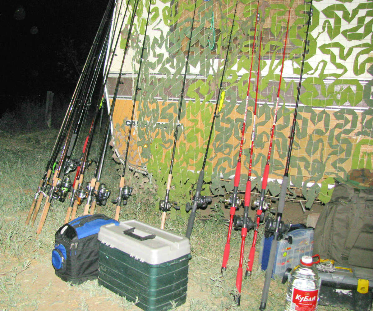 Купите спиннинг – один из самых популярных видов рыбалки.