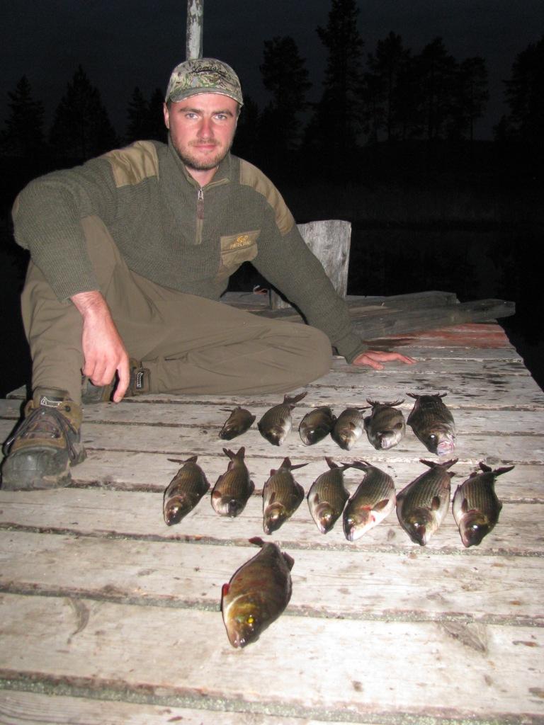 Свитер для рыболова