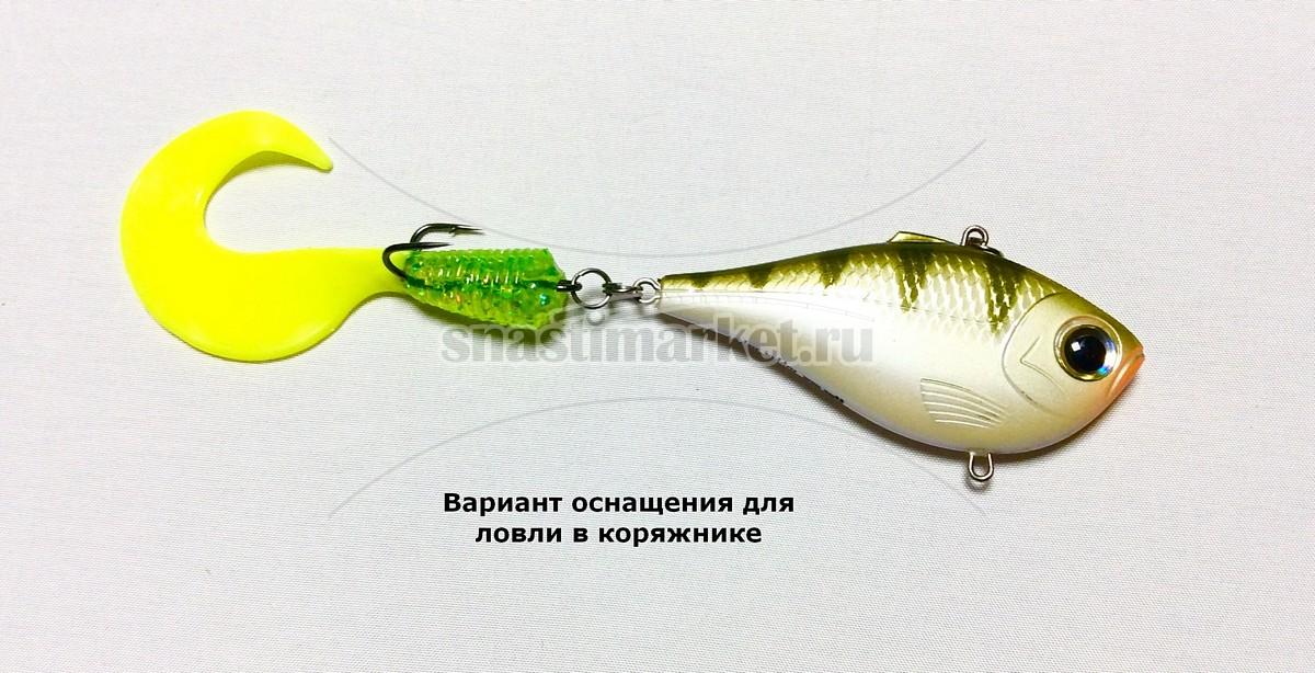 Вариант оснащения воблера ратлин для ловли в глухом коряжнике