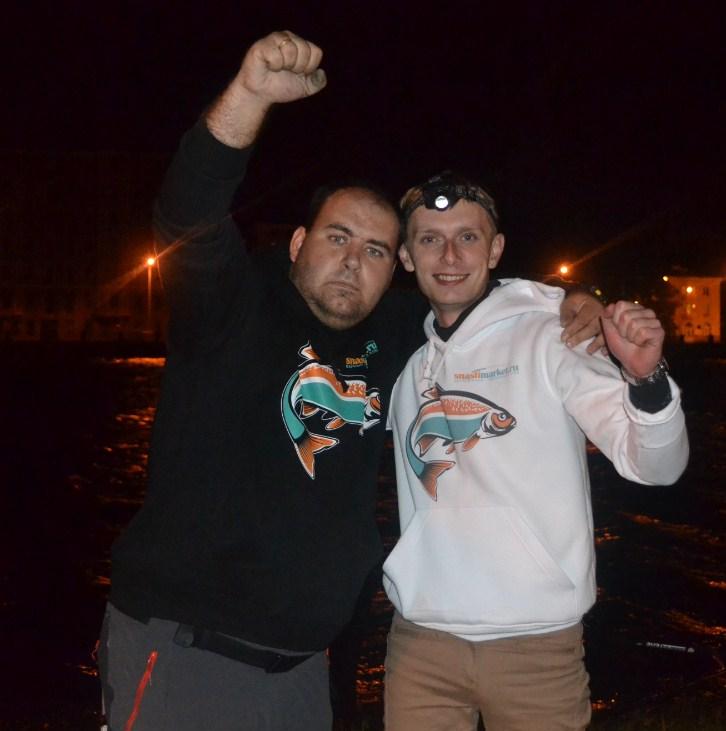 В составе команды SnastiMarket -  Кирилл Вознюк, Виталий Космин.