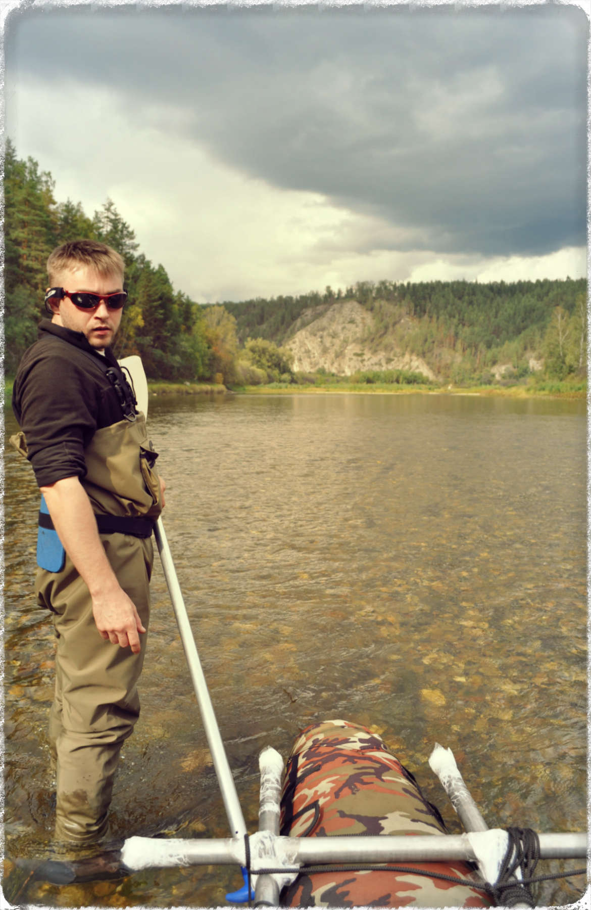 На рыбалку с очками